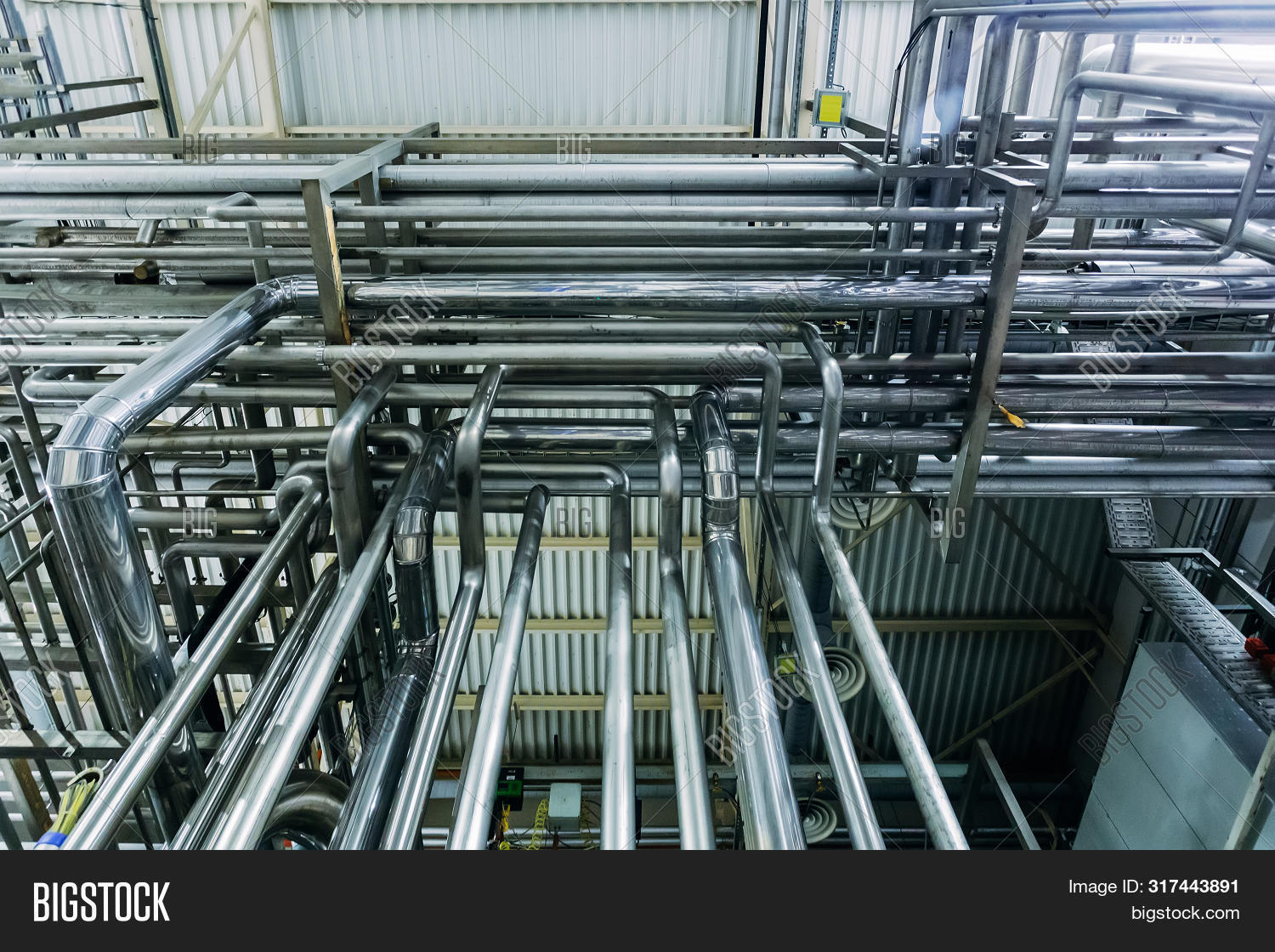Steel Pipes Industrial Image & Photo (Free Trial) | Bigstock