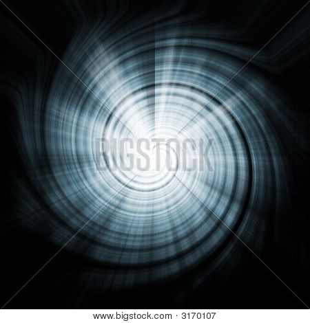 Space Blue Abstract Vortex Background Texture