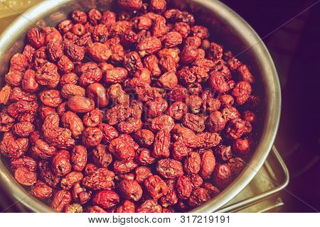 Dried Red Date Or Chinese Jujube, Fruits With Highest Vitamin C Content, Reduce Cholesterol Levels I