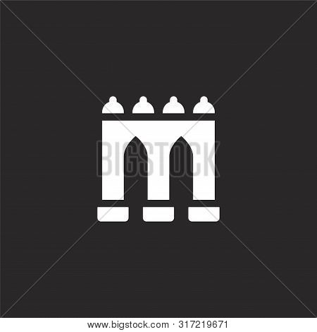 Guas Livres Icon. Guas Livres Icon Vector Flat Illustration For Graphic And Web Design Isolated On B