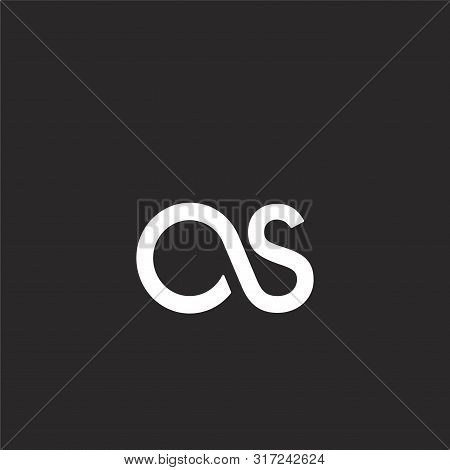 Lastfm Icon. Lastfm Icon Vector Flat Illustration For Graphic And Web Design Isolated On Black Backg