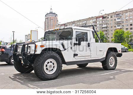 Kiev, Ukraine - September 9, 2016; Hummer H1 In The City