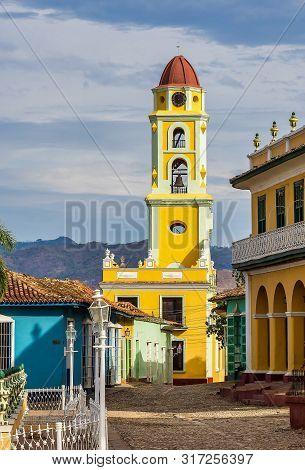 Trinidad, Cuba. National Museum Of The Struggle Against Bandits. Tower Of Museo Nacional De La Lucha