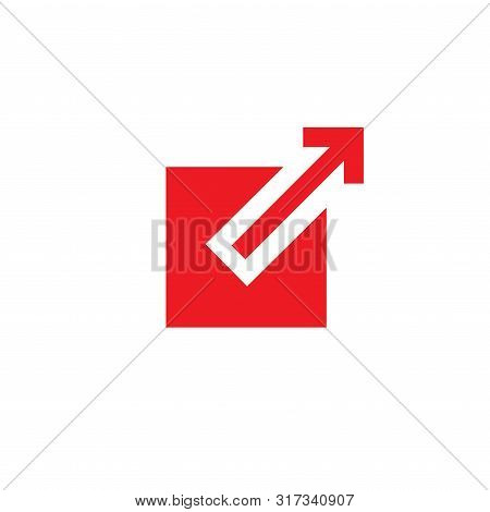 External Link Icon - Box And Arrow Pointing Outward