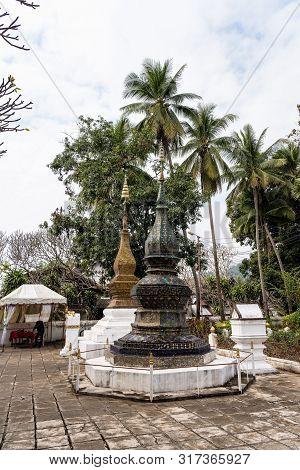 Wat Xieng Thong Or The Golden City Temple In Luang Prabang, Laos.