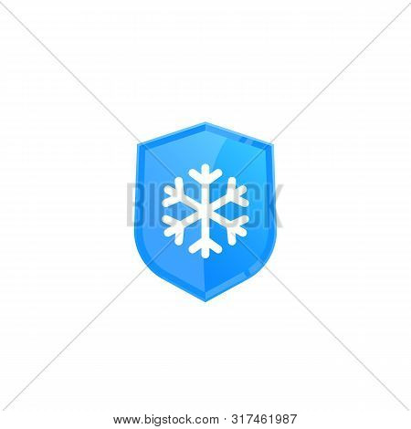 Frost Resistant, Cold Resistance Icon, Eps 10 File, Easy To Edit