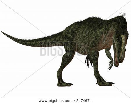 Monolophosaurus-3D Dinosaur