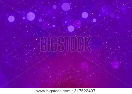 Fantastic Brilliant Abstract Background Glitter Lights With Sparks Fly Defocused Bokeh - Celebratory