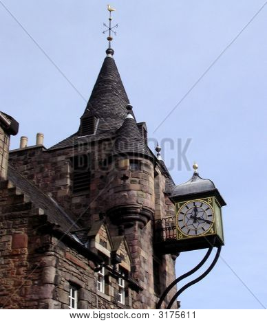 Turret With Clock