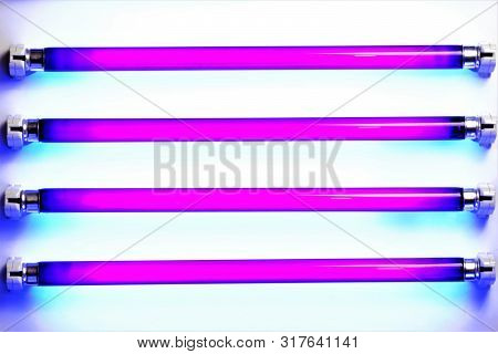 Ultraviolet Lamps-bactericidal Quartz. In Technology And Medical Devices, Are Being Widely Used Lamp