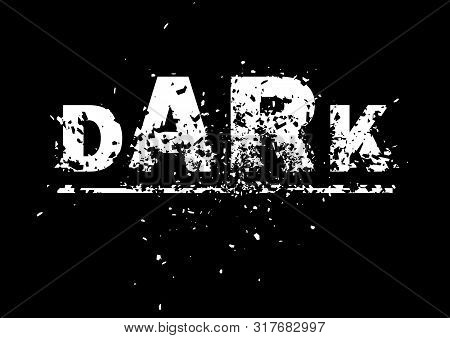 Dark Abstract Background Illustration / Design Element Art