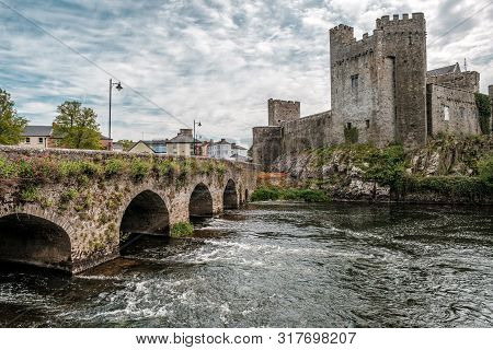 Cahir Castle In County Tipperary In Ireland