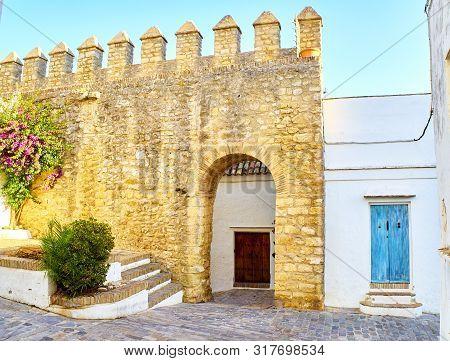 Vejer De La Frontera Downtown. Cadiz Province, Andalusia, Spain.