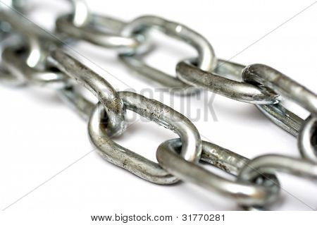 The New Metal Chain on white