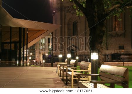 Information Centre (St Pauls) At Night