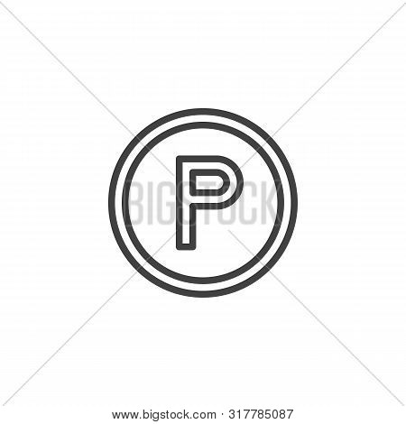 Except tetrachloroethylene sign line icon. linear style sign for mobile concept and web design. Any solvent, outline vector icon. Laundry symbol, logo illustration. Vector graphics poster