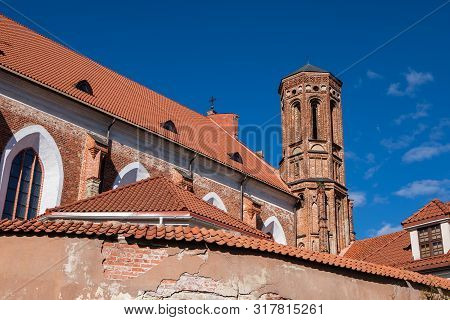 Church Of St. Francis And Bernadine In Vilnius, Lithuania