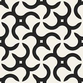 Seamless geometric pattern with creative shapes. Vector endless background. Modern repetitive design poster