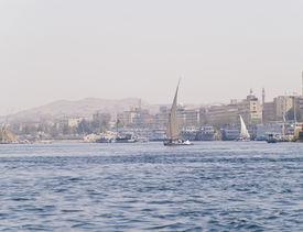 Egyptian sailing boats