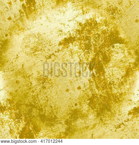 Abstract Vintage Dirty Texture. Art Rough Crack Design. Grunge Dust Border. Ink Distress Background.