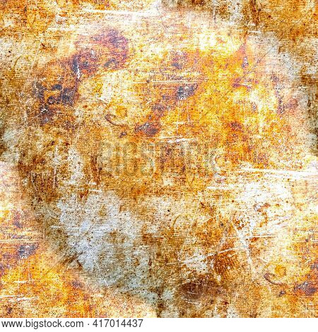 Grunge Distress Dirty Texture. Aged Vintage Grain Pattern. Paint Stone Wall. Abstract Dust Illustrat