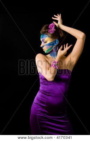 Mardi Gras Face Paint Series