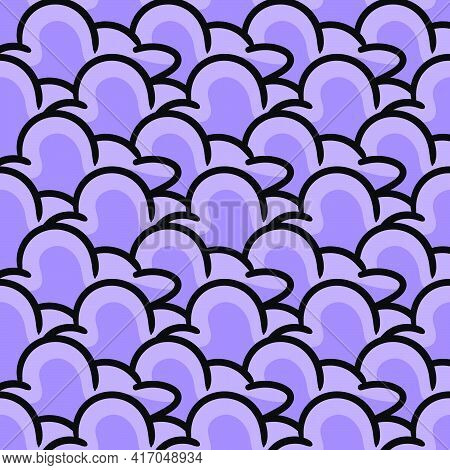 Purple Cloud Smoke Texture Seamless Pattern Textile Print. Great For Summer Vintage Fabric, Scrapboo