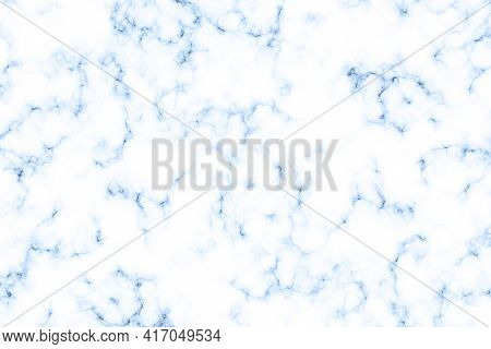White Marble Texture Close Up - Abstract Background. Marble Slab For Outdoor Or Indoor Home Decorati