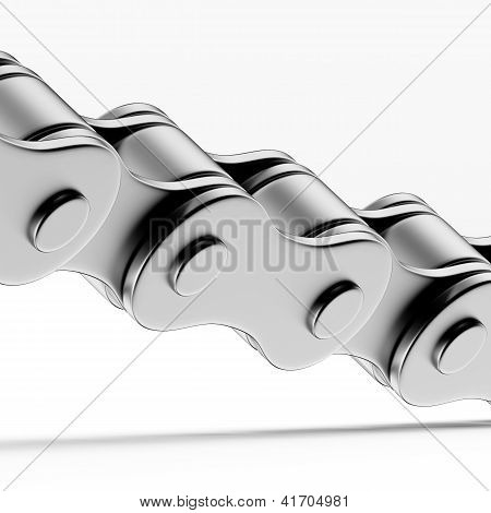 Close up of Bicycle chain