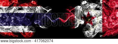 Thailand, Thai Vs United States Of America, America, Us, Usa, American, Birmingham, Alabama Smoky My