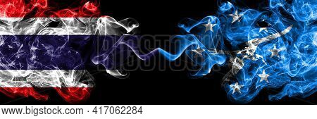 Thailand, Thai Vs United States Of America, America, Us, Usa, American, Corpus Christi, Texas Smoky