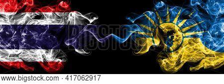 Thailand, Thai Vs United States Of America, America, Us, Usa, American, Mesa, Arizona Smoky Mystic F
