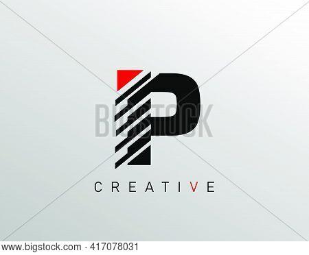 Creative Modern Letter P Logo, Monogram P Logo Icon.