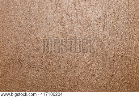 Structural Wall Finish. Interior Design. The Detail On The Embossed Wall. Decorative Finishing Plast