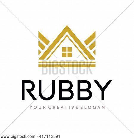 King Real Estate Logo. Home King Logo Vector