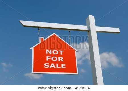 Not For Sale Signpost