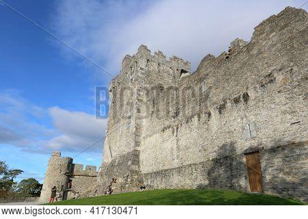 Killarney, Ireland - Oct 14, 2018: Ross Castle At The National Park On Oct 14, 2018 In Killarney, Ir