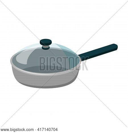 Pan Vector Icon.cartoon Vector Icon Isolated On White Background Pan.