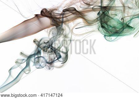 Smooth Smoke Color Swirls