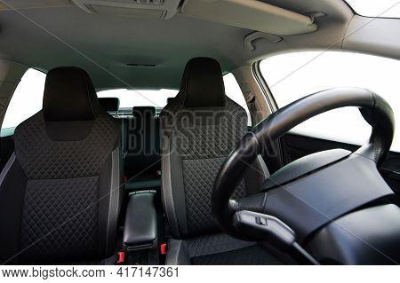 Empty Car Front Seats