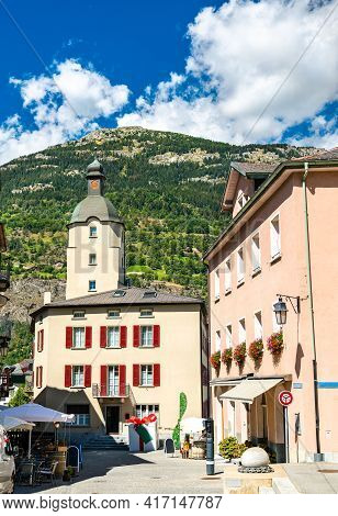 Architecture Of Brig In The Canton Of Valais, Switzerland