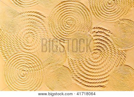 The Circular Textured Wall
