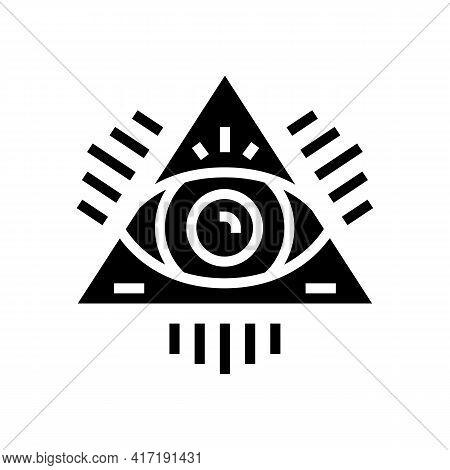 Medal Astrological Glyph Icon Vector. Medal Astrological Sign. Isolated Contour Symbol Black Illustr