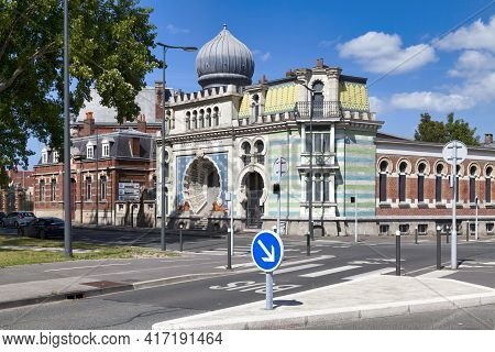 Dunkerque, France - June 22 2020: Built In 1895, The