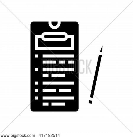 Online Education Application Glyph Icon Vector. Online Education Application Sign. Isolated Contour