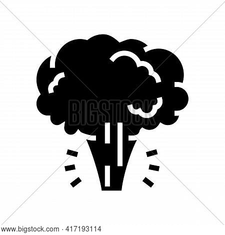 Aggregate State Water Glyph Icon Vector. Aggregate State Water Sign. Isolated Contour Symbol Black I