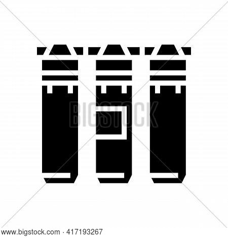 Filtration Water Equipment Glyph Icon Vector. Filtration Water Equipment Sign. Isolated Contour Symb
