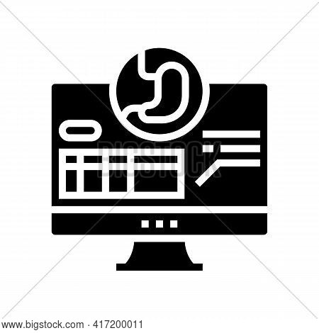 Result Bariatric Line Icon Vector. Result Bariatric Sign. Isolated Contour Symbol Black Illustration