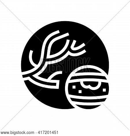 Atheroma Disease Line Icon Vector. Atheroma Disease Sign. Isolated Contour Symbol Black Illustration