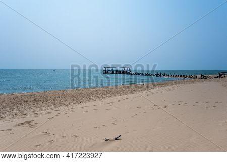 Gulf Sea Of Thailand , In Prachuap Khiri Khan Province Of Thailand